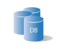 Base de données/mémoire illustration libre de droits