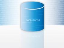 Base de données/mémoire illustration stock