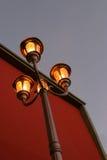 Base de iluminación exterior Fotografía de archivo