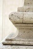 Base de la columna en Roma Fotos de archivo libres de regalías