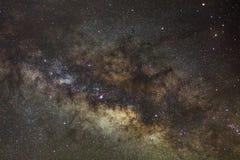Base de la vía láctea Centro galáctico de la vía láctea fotografía de archivo