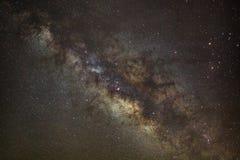 Base de la vía láctea Centro galáctico de la vía láctea fotos de archivo libres de regalías