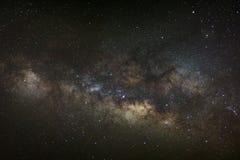 Base de la vía láctea Centro galáctico de la vía láctea, exposu largo imagen de archivo