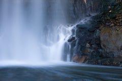 Base de una cascada Imagenes de archivo