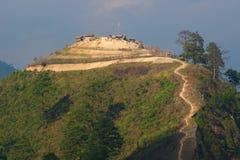 Base del ejército Burmese fotos de archivo
