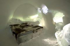 Base del ghiaccio Immagine Stock