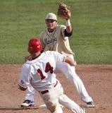 Base del gioco secondo della tazza del Canada di baseball Fotografie Stock Libere da Diritti