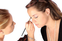 Base del maquillaje Fotografía de archivo
