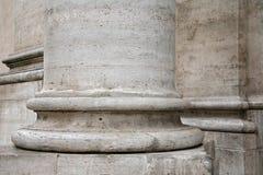 Base della colonna a Roma Fotografia Stock Libera da Diritti