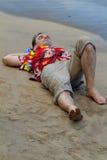 Base della spiaggia Fotografia Stock Libera da Diritti