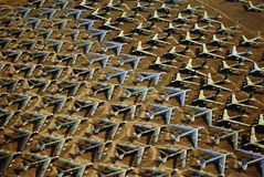 Base delle forze aeree del Davis Montham. Immagini Stock Libere da Diritti