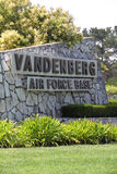 Base delle forze aeree di Vandenberg (AFB) in California, S.U.A. Immagini Stock