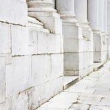 Base des colonnes de marbre image libre de droits