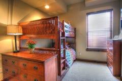 Base di cuccetta della camera da letto dei bambini Fotografia Stock Libera da Diritti