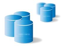 Base di dati/memoria Fotografia Stock