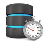 Base di dati veloce Immagine Stock