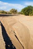 Base di fiume asciutta di Huab Fotografia Stock Libera da Diritti