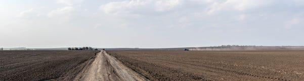 Base do fazendeiro no campo Imagens de Stock Royalty Free