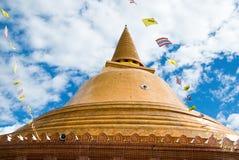Base do Pagoda de Phra Pathom Chedi Fotos de Stock Royalty Free
