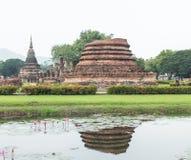Base do pagode da ruína Imagem de Stock