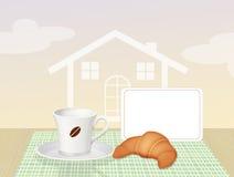 Base - e - prima colazione Fotografia Stock Libera da Diritti
