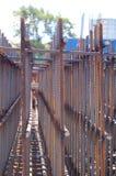 Base en acier de bâtiment Images libres de droits