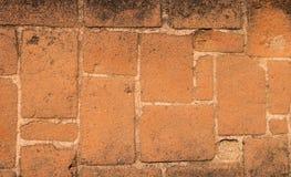 Base feita de um tijolo vermelho Imagem de Stock