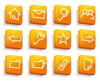 Base icon Internet Stock Photography