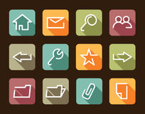 Base the icon Internet Royalty Free Stock Images