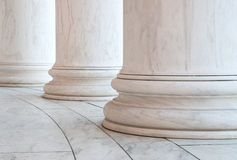 Base of Ionic Columns in Washington DC Stock Photos