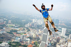 BASE Jumper Stock Image