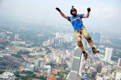 BASE Jumper stock image