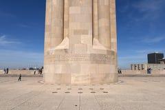 Base of Liberty Memorial in Kansas City Missouri Stock Photography