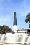 Base militar Pensacola Florida do farol Fotografia de Stock