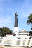 Base militare Pensacola Florida del faro Fotografia Stock