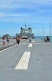 Base navale di Sattahip Immagini Stock Libere da Diritti