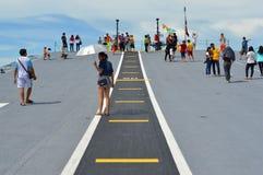 Base navale di Sattahip Immagine Stock