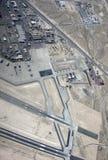 Base Nevada de la fuerza de Nellis Air Imagen de archivo libre de regalías