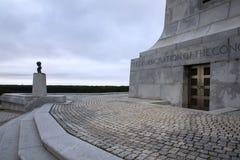 Base of North Carolina Wright Brothers Monument Stock Photo