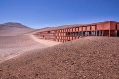Base of Paranal Observatory. La Residenzia, base station of Paranal Observatory stock photography