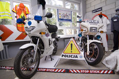 base polis poznan Royaltyfria Bilder