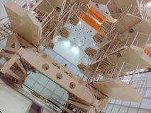Base por satélite Imagenes de archivo