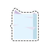 100 BASE. Ream of paper icon image vector illustration design Royalty Free Stock Photos