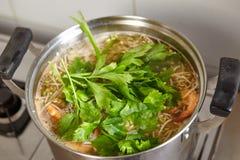 Base soup Stock Photo