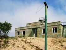 Base soviétique abandonnée Photographie stock libre de droits