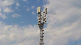 Base station antennas stock video footage