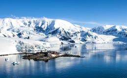 Base station-2 de Chileen de la investigación de la Antártida Imagen de archivo libre de regalías