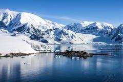 Base station-3 de Chileen de la investigación de la Antártida fotografía de archivo libre de regalías