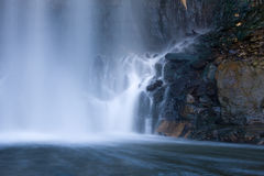 Base of a Waterfall Stock Images