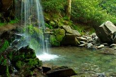 Base of a Waterfall Stock Photo